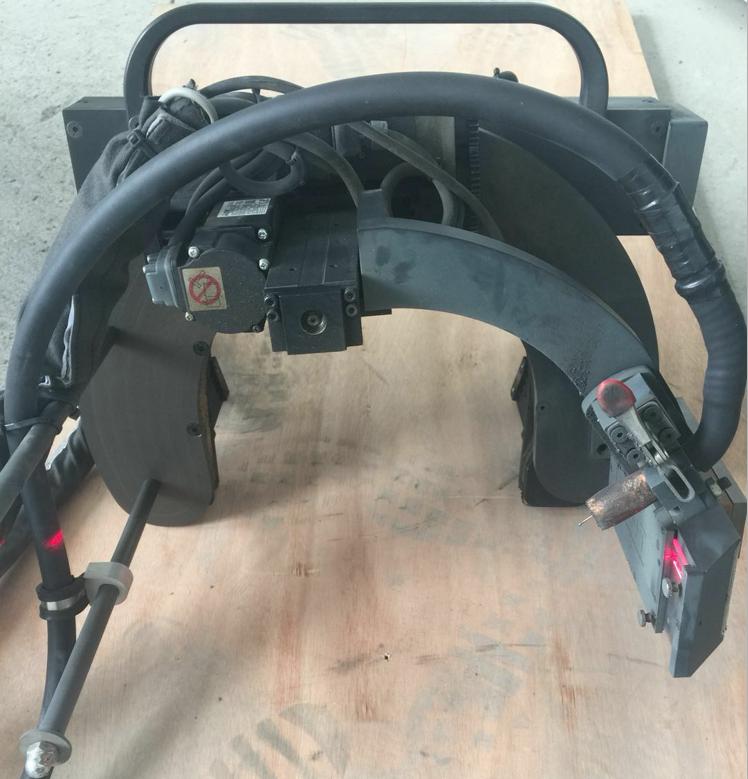 管道自动焊接机夹具