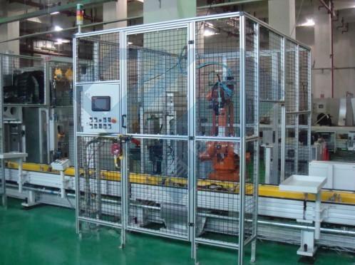 源头厂家定制铝型材防护围栏