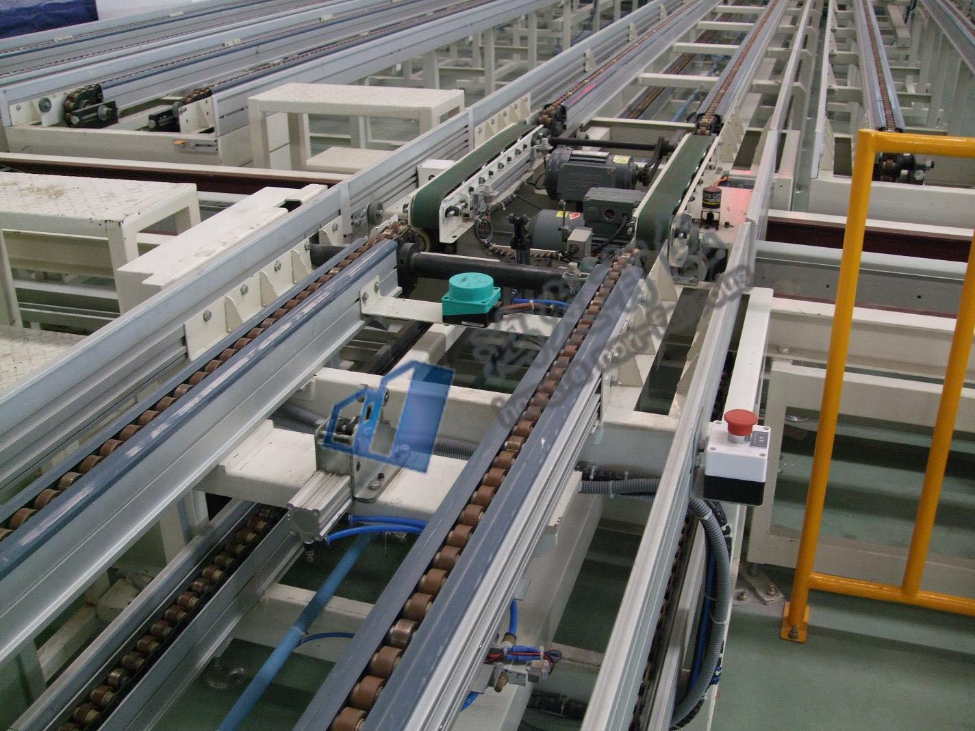 输送设备厂家生产倍速链输送线
