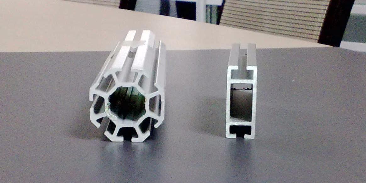 八棱柱展览铝型材