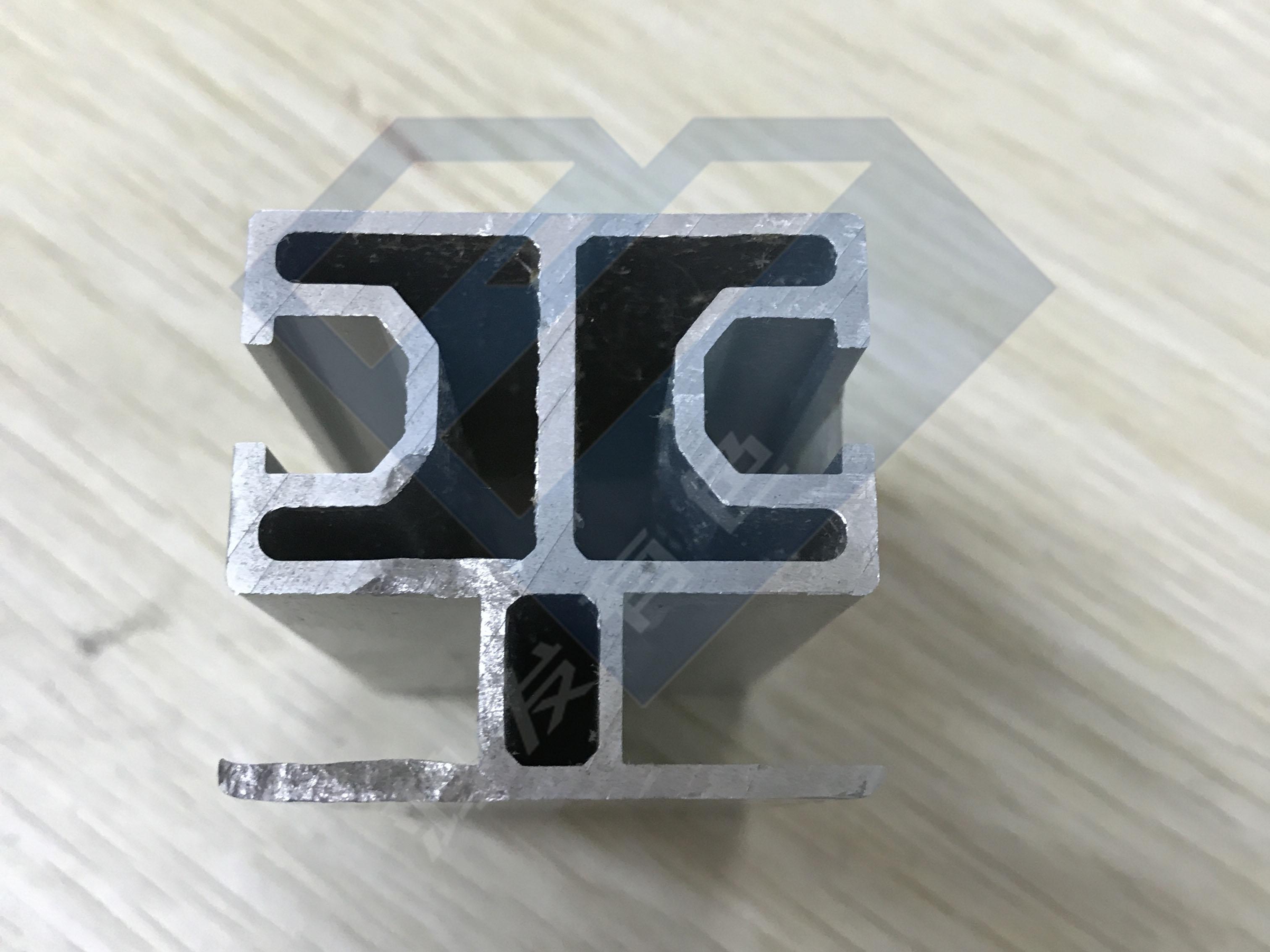 异形铝合金型材开模定制39.4*37mm,30年铝型材挤压厂家生产