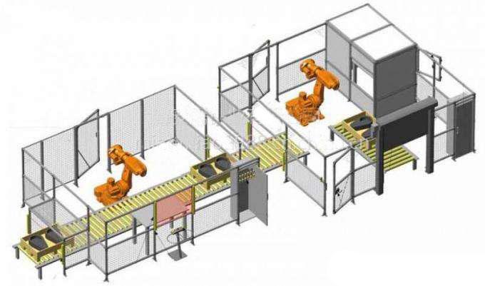 工业围栏图