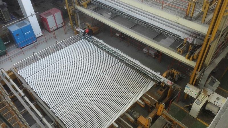 立式氧化生产线