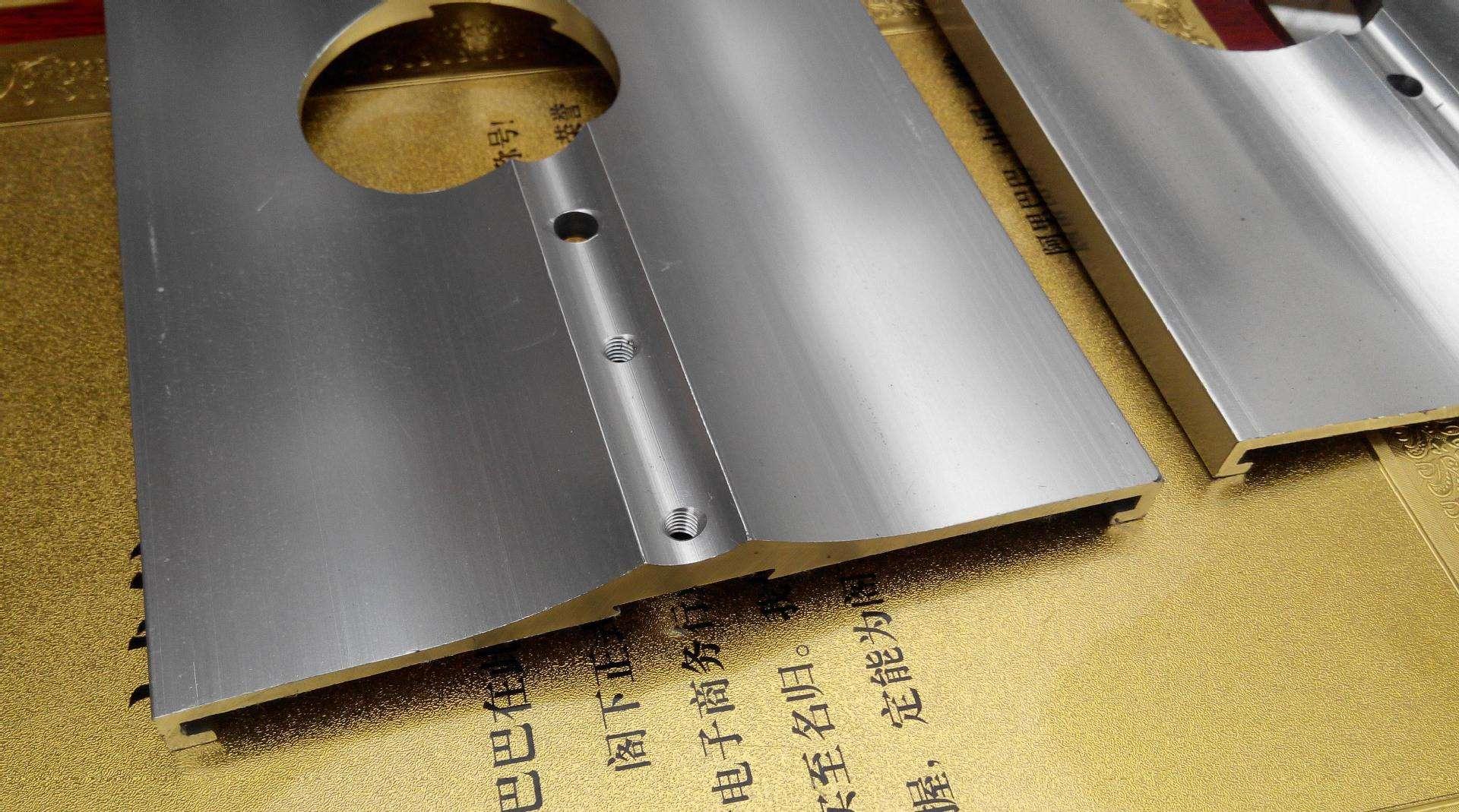 阳极氧化的深加工铝型材