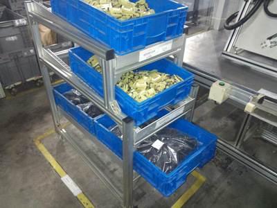 铝型材车间物料架