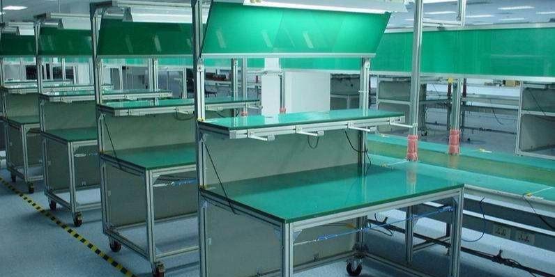铝型材工作台占领市场的原因?
