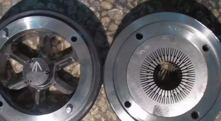 太阳花散热器挤压模具