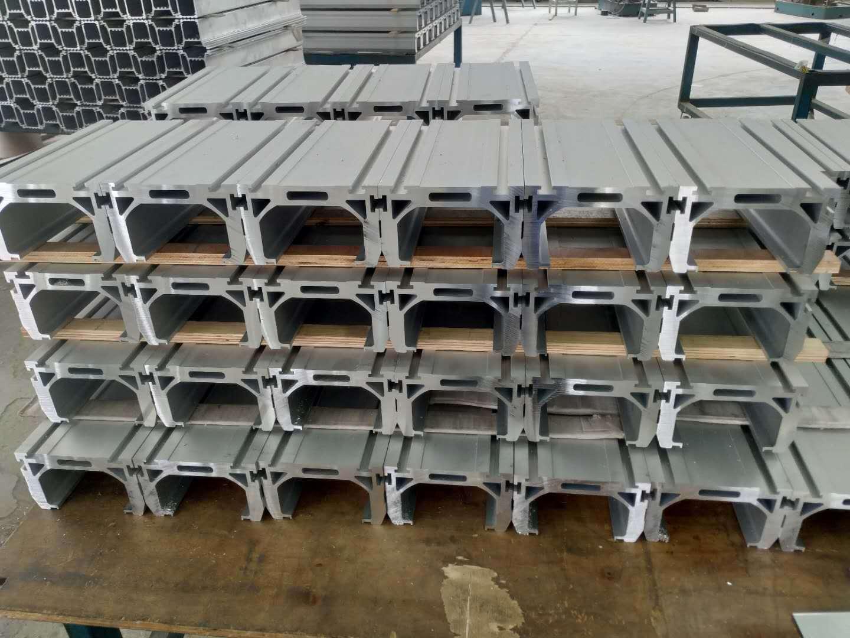 155mm模组铝型材开模定制,模组铝型材深加工