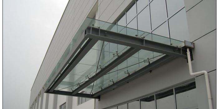 铝合金雨棚为何如此受欢迎